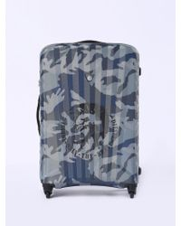 DIESEL - Medium luggage In Camou Print And Mohawk - Lyst