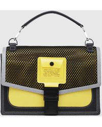 DIESEL - Mesh-panelled Cross-body With Pvc Pocket - Lyst