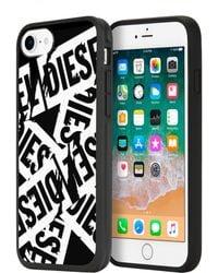 DIESEL - Multi Tape Black/white Iphone 8/7/6s/6 Case - Lyst