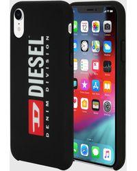 DIESEL Logo Black Case, Iphone Xr