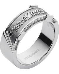 DIESEL - Ring Dx1037 - Lyst