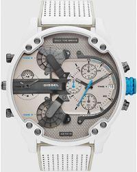 DIESEL - Dz7419 Mr. Daddy 2.0 Chronograph Leather Watch - Lyst
