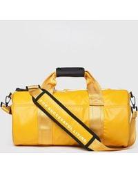 DIESEL - Travel Bag With Bold Logo - Lyst