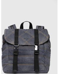 DIESEL - Backpack With Quilted Motif - Lyst