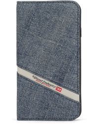 DIESEL Denim Iphone 8 Plus/7 Plus Folio None - Blue