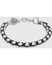 DIESEL Dx1180 Stackable Stainless Steel Bracelet - Metallic