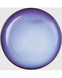 """DIESEL Porcelain Dinner Plate """"neptune"""" - Blue"""