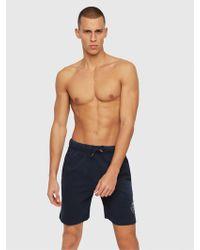 DIESEL - Loungewear Shorts With Back Logo - Lyst