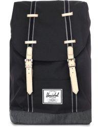 1016115d2c4 Herschel Supply Co. - Retreat Offset Denim Backpack - Lyst