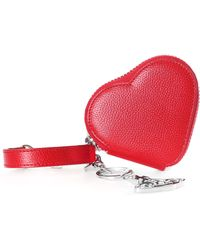 abe112273bc6 Vivienne Westwood - Women s Johanna Heart Coin Case With Orb Gadget Red -  Lyst