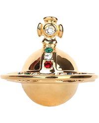 Vivienne Westwood - Solid Orb Ring - Lyst