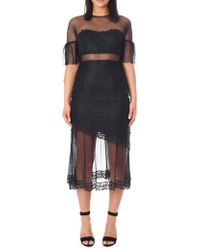Three Floor - Women's Deep Moon Dress Black - Lyst