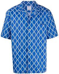 Marcelo Burlon - All Over Cross Hawaii Shirt - Lyst