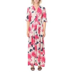 Pyrus - Dahliah Printed Maxi Dress - Lyst