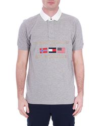 Tommy Hilfiger - Men's Relaxed Rugby Polo - Lyst
