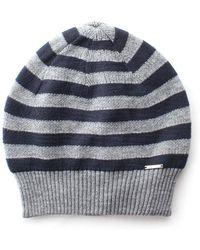 1824c49380d Diesel Felt Fedora Hat With Denim Hatband in Blue for Men - Lyst