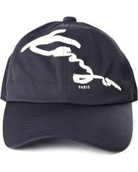80794c122fb KENZO - Men s Signature Baseball Cap Black - Lyst