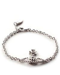 Vivienne Westwood - Mayfair Bas Relief Women's Bracelet Silver - Lyst