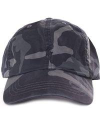 0981ebd5ec079 Polo Ralph Lauren Multi Player Logo Denim Baseball Cap In Black in ...