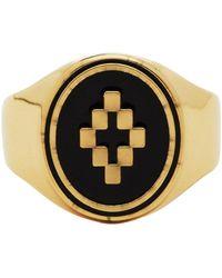 Marcelo Burlon Cross Ring - Metallic