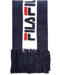 Fila Jacquard Scarf - Blue