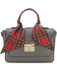 Betsey Johnson - Wrapped Up In You Dotted Top-handle Satchel - Lyst