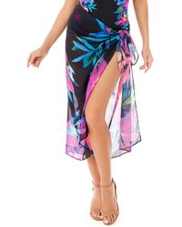 Miraclesuit Gensis Scarf Pareo Swimsuit Coverup - Multicolor