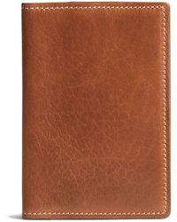 Trask - Men's Jackson Bison Passport Cover - Lyst
