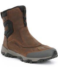 """Merrell - Men S Coldpack Ice 8"""" Zip Polar Waterproof Boots - Lyst"""