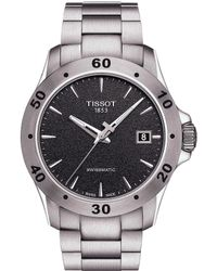 Tissot - V8 Men's Stainless Steel Mechanical Automatic Watch - Lyst