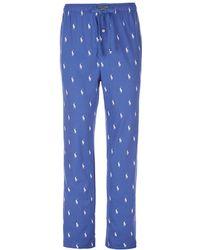 Polo Ralph Lauren - Polo Player Knit Pajama Pants - Lyst