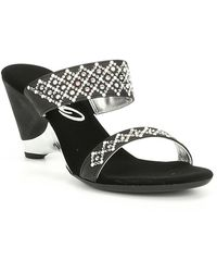 Onex - Unique Pearl Embellished Leather Sandals - Lyst