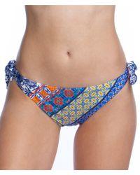 Nanette Lepore - Scarf Patchwork Vamp Hipster Swimsuit Bottoms - Lyst