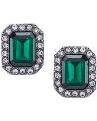 Lauren by Ralph Lauren - Stone Stud Earrings - Lyst