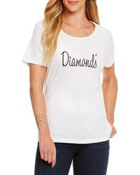 Heritage - Diamond ́s Logo Tee - Lyst