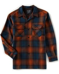 Pendleton - Original Board Ombre Long-sleeve Woven Shirt - Lyst