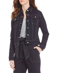 Chelsea & Violet Classic Denim Jacket - Blue
