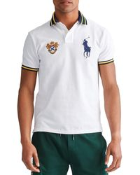 Polo Ralph Lauren - Big Pony Embroidered Crest Short-sleeve Polo Shirt - Lyst