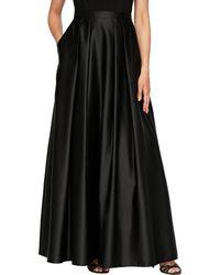 Alex Evenings Ballgown Skirt - Black