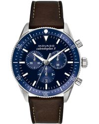 Movado - Heritage Series Calendoplan S Chronograph Watch - Lyst