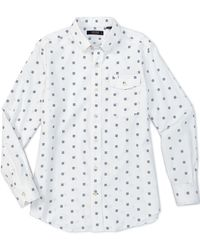 Cremieux - Medallion Print Performance Long-sleeve Woven Shirt - Lyst