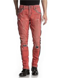 Rock Revival Sycamore Ta7 Tapered Side Stripe Jeans