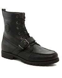 Polo Ralph Lauren - Men's Ranger Leather Buckle Boots - Lyst