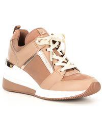 Michael Red Boerum Lyst In Kors Platform Sneakers UMVpSqzGjL