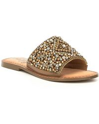 Susanna Bejeweled Detail Sandals HGSnN2DL1e