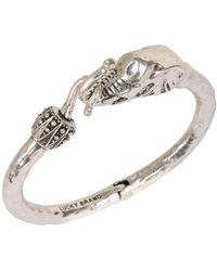 Lucky Brand - Silver Elephant Cuff - Lyst