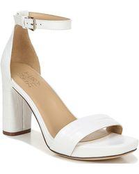 Naturalizer Joy Dress Ankle Strap Sandals - White