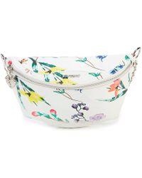 4b8aef371a88 Betsey Johnson - Organical Botanical Convertible Floral Print Chain Strap  Belt Bag - Lyst