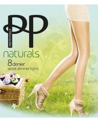 Pretty Polly - Naturals Secret Slimmer Tights - Lyst