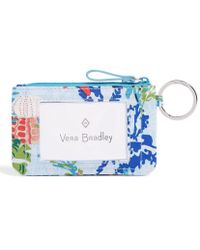 Vera Bradley - Beach Collection Iconic Zip Id Case - Lyst